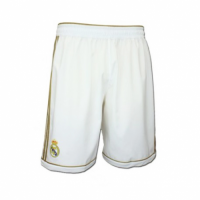 2012 Real Madrid Home White Retro Soccer Jersey Short