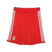 2012 Real Madrid Third Away Red Retro Soccer Jersey Short
