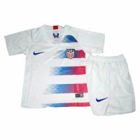 2018 USA Home White Children's Jersey Kit(Shirt+Short)