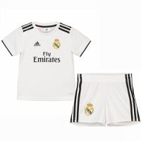 18-19 Real Madrid Home Children's Jersey Kit(Shirt+Short)