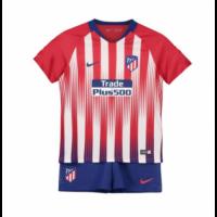 18-19 Atletico Madrid Home Children's Jersey Kit(Shirt+Short)