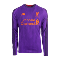 18-19 Liverpool Away Purple Long Sleeve Jersey Shirt