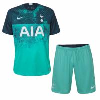 18-19 Tottenham Hotspur Third Away Green Jersey Kit(Shirt+Short)
