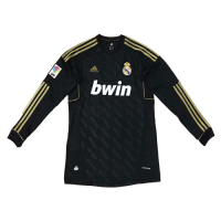 2012 Real Madrid Away Retro Long Sleeve Jersey Shirt
