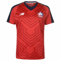 18-19 Lille OSC Home Red Jersey Shirt