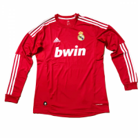 2012 Real Madrid Third Away Long Sleeve Retro Jersey Shirt