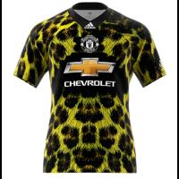 18-19 Manchester United EA Sports Green Jersey Shirt