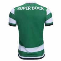 18-19 Sporting Lisbon Home Green&White Soccer Jersey Shirt