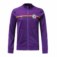 18-19 Manchester City Purple Training Jacket