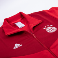 18-19 Bayern Munich Red High Neck Collar Track Jacket