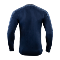 18-19 Chelsea Navy&Gray V-Neck Training Jacket
