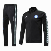 18-19 Napoli Black Training Kit(Jacket+Trousers)