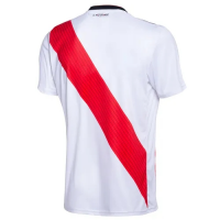 18-19 River Plate Home White Jersey Shirt