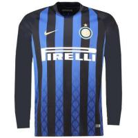 18-19 Inter Milan Home Long Sleeve Jersey Shirt