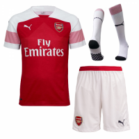 18-19 Arsenal Home Soccer Jersey Whole Kit(Shirt+Short+Socks)