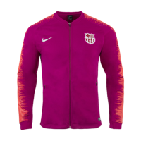 18-19 Barcelona Pink V-Neck Training Jacket