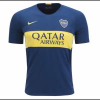 18-19 Boca Juniors Home Blue Soccer Jersey Shirt