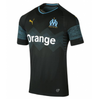 18-19 Marseille Away Black Jersey Shirt