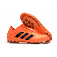 AD X Nemeziz Messi 18.1 AG Soccer Cleats-Orange