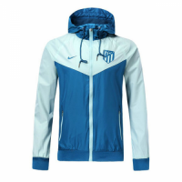 18-19 Atletico Madrid Blue&Gray Woven Windrunner