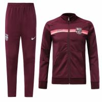 18-19 Barcelona Dark Red Training Kit(Jacket+Trouser)