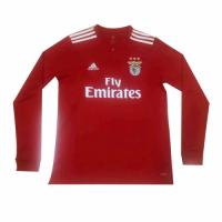 18-19 Benfica Home Red Long Sleeve Jersey Shirt