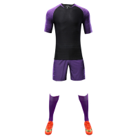 Customize Team Purple Player Version Soccer Jerseys Whole Kit(Shirt+Short+Socks)