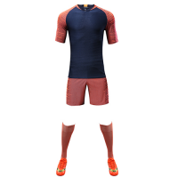 Customize Team Orange Player Version Soccer Jerseys Whole Kit(Shirt+Short+Socks)