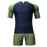 Customize Team Green Player Version Soccer Jerseys Kit(Shirt+Short)