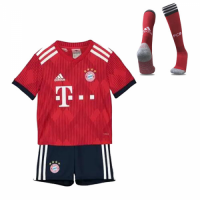 18-19 Bayern Munich Home Children's Jersey Whole Kit(Shirt+Short+Socks)