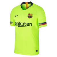 18-19 Barcelona Away Green Soccer Jersey Shirt