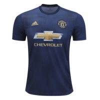 18-19 Manchester United Third Away Navy Jersey Shirt
