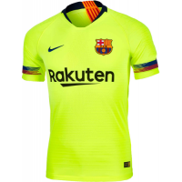 18-19 Barcelona Away Green Soccer Jersey Shirt(Player Version)