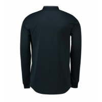 18-19 Real Madrid Away Dark Navy Long Sleeve Jersey Shirt