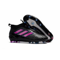 AD ACE 17+ PureControl FG Soccer Cleats-Black&Pink