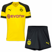 18-19 Borussia Dortmund Home Soccer Jersey Kit(Shirt+Short)