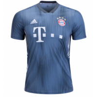 18-19 Bayern Munich Third Away Navy Jersey Shirt