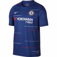 18-19 Chelsea Home Blue Soccer Jersey Shirt