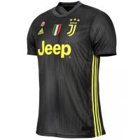 18-19 Juventus Third Away Black Soccer Jersey Shirt