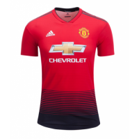 18-19 Manchester United Home Red Jersey Shirt(Player Version)