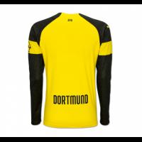 18-19 Borussia Dortmund Home Long Sleeve Jersey Shirt