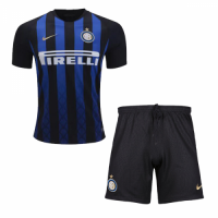 18-19 Inter Milan Home Soccer Jersey Kit(Shirt+Short)