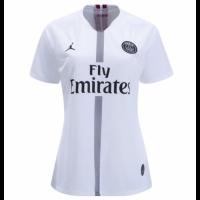 18-19 PSG JORDAN 3rd Away White Women's Soccer Jersey Shirt