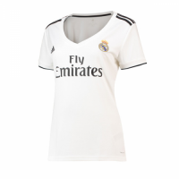 18-19 Real Madrid Home Women's Jersey Shirt