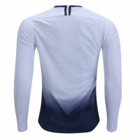 18-19 Tottenham Hotspur Home White Long Sleeve Jersey Shirt