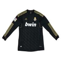 11-12 Real Madrid Away Retro Long Sleeve Jersey Shirt