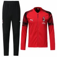18-19 AC Milan Red Training Kit(Jacket+Trousers)