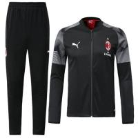 18-19 AC Milan Black Training Kit(Jacket+Trousers)