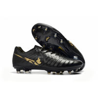 NK Tiempo Legend VII  FG Soccer Cleats-Black&Gold