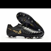 NK Tiempo Legend VII  FG Soccer Cleats-Black&Gold